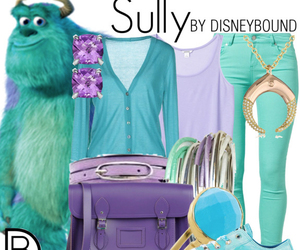 disney, sully, and monster ag image