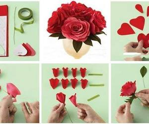 craft, decoration, and flower image