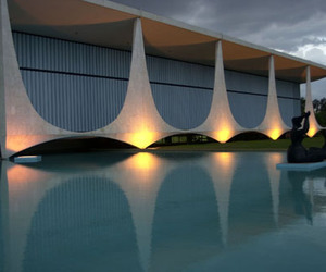 architecture, brasilia, and brazil image