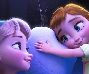 frozen, anna, and elsa image