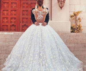 bride, cinderella, and dance image