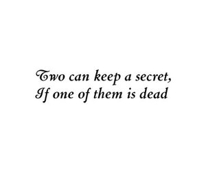 quotes, secret, and pll image