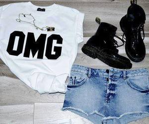 fashion, OMG, and outfit image