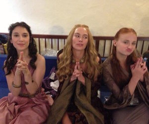 game of thrones, sophie turner, and shae image