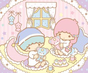 sanrio, little twin stars, and cute image
