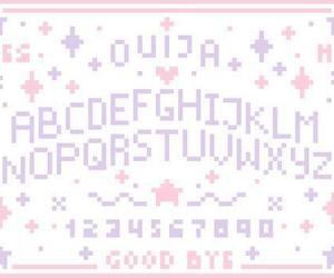 ouija, pastel, and kawaii image