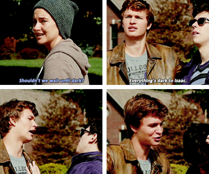 isaac, quotes, and fault in our stars image