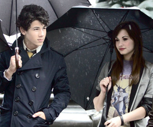 demi lovato, nemi, and nick jonas image