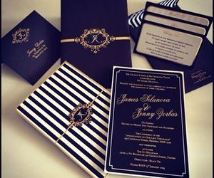 black, invitation, and Paper image