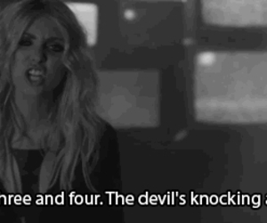 music, the pretty reckless, and devil's image