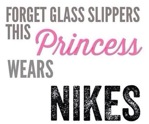 nike, princess, and fitness image