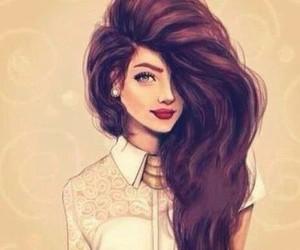desenho, girl, and lovemodel image