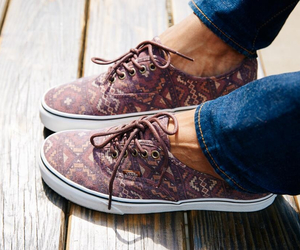 shoes, style, and vans image