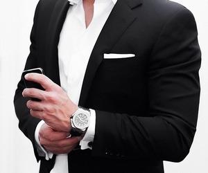 suit, classy, and gentleman image