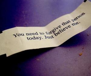forgive, believe, and quote image