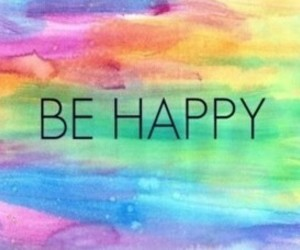 live the life and be happy image
