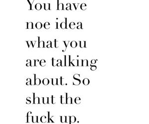shut up, understanding, and just stop image