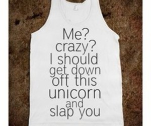 unicorn, crazy, and funny image