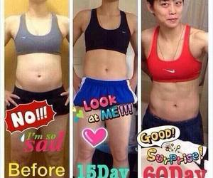 abs, before after, and body image