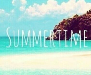 beach, Sonne, and summer image