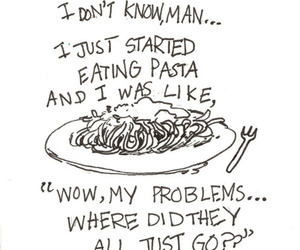 food, pasta, and funny image