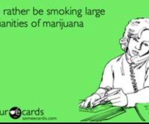 ecard, marijuana, and weed image