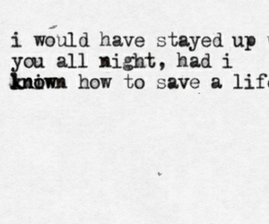 the fray, how to save a life, and Lyrics image