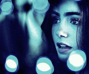 lily collins, clary fray, and city of bones image