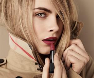 cara delevingne, model, and lipstick image