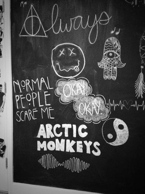 arctic monkeys, art, and fatima image