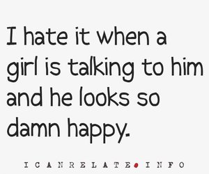 girl, text, and jealousy image