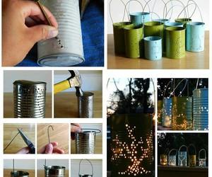 diy, light, and creative image