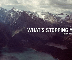 quotes, mountains, and text image