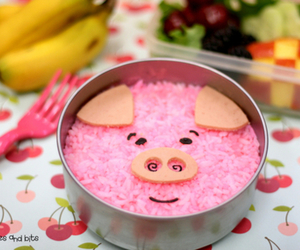 food, pig, and cute image