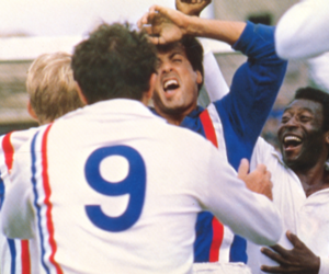 Pele and sylvester stallone image