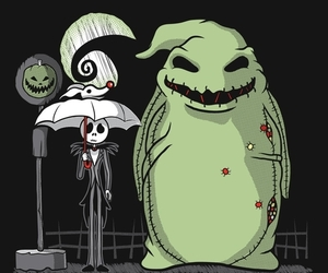 jack, totoro, and Halloween image
