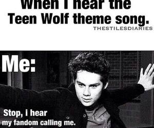 dylan, teen wolf, and my sweetie image