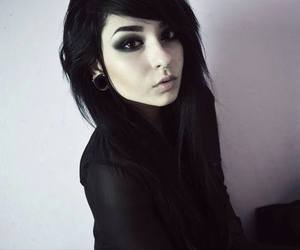 black, alternative, and emo image