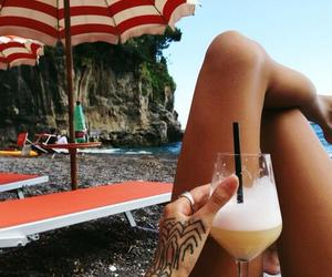 alternative, beach, and cocktail image
