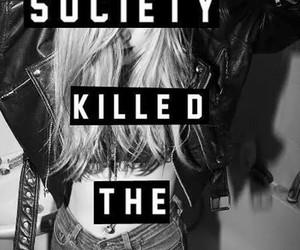 society, teenager, and killed image