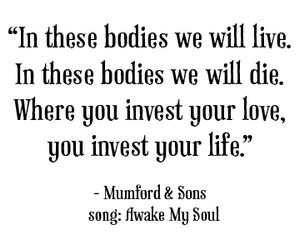 die, live, and mumford and sons image