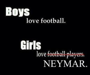 neymar, football, and boy image