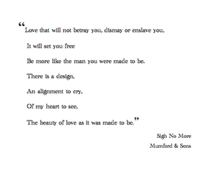 quote, text, and mumford and sons image