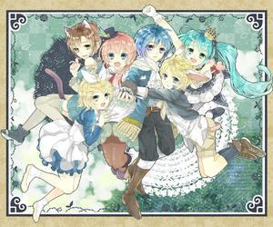 anime, bunny, and hatsune miku image