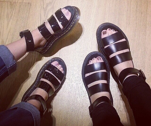 fashion, sandals, and style image