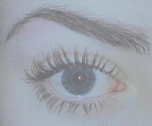 eye, grunge, and blue image