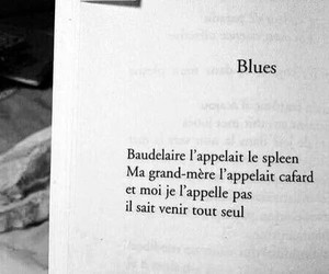 baudelaire, spleen, and black and white image
