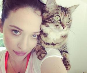 cat and Kat Dennings image