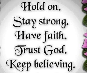 god and stay strong image
