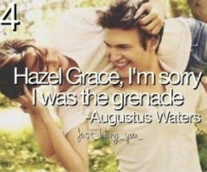cute couple, frases, and augustus waters image